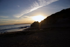 Sunset in Cornwall Stock Images