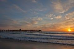 Almost Sunset on Coronado Island, California Royalty Free Stock Images