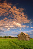 Sunset in the country royalty free stock photo