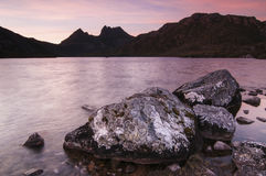 Sunset at Cradle Mountain Stock Photography
