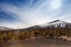 Sunset Crater Royalty Free Stock Photography