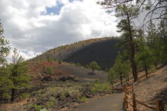 Sunset Crater Royalty Free Stock Images