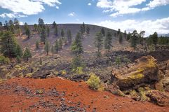 Sunset Crater Arizona Royalty Free Stock Image