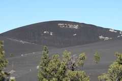 USA, Arizona: Sunset Crater - Cinder Hills Stock Photos