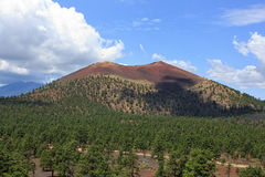 Sunset Crater Royalty Free Stock Photo