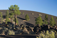 Sunset Crater At Sunset Stock Photos