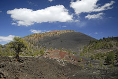 Sunset Crater Volcano in Arizona Stock Photos