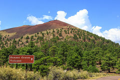 Sunset Crater Volcano Stock Images