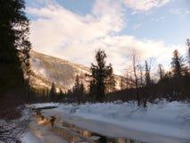 Sunset creek 1 Royalty Free Stock Image
