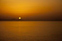 Sunset at Crete Stock Image