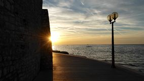 sunset croatia Zdjęcia Stock