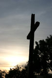 Sunset Cross Stock Photography