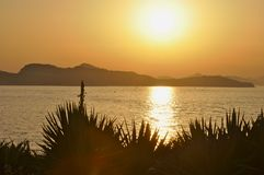 Sunset in Crotia Royalty Free Stock Image