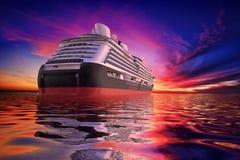 Sunset Cruise stock illustration