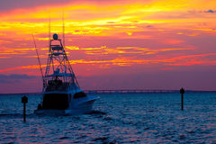 Sunset Cruise Royalty Free Stock Photos