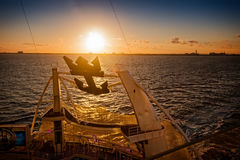 Sunset Cruise Royalty Free Stock Image
