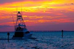 Sunset Cruise Royalty Free Stock Photos