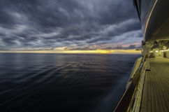 Sunset On A Cruise Royalty Free Stock Photo