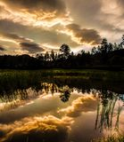 Sunset at Custer, South Dakota Royalty Free Stock Photo