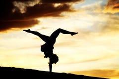 Sunset Dance Stock Photography