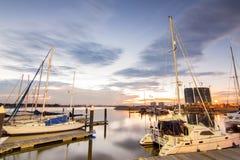 Sunset At Danga Bay Royalty Free Stock Images