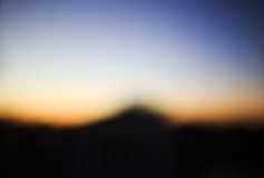Sunset defocus, abstract background Stock Photography