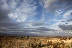 Sunset. In the desert of morocco Stock Photo