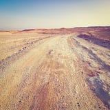 Sunset in Desert Stock Photo