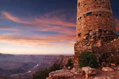 Sunset at Desert View Royalty Free Stock Image