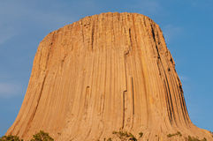 Sunset at Devils Tower Royalty Free Stock Photography