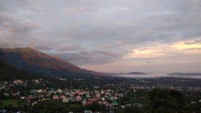 Dharmshala. Sunset at dharmshala Royalty Free Stock Photos