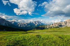 Dolomites alps. Italy stock images