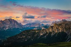 Dolomites alps. Italy royalty free stock photos