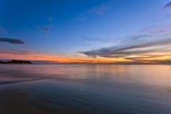 Sunset ebb Stock Photography