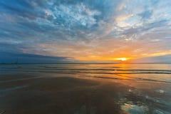 Sunset ebb Stock Image