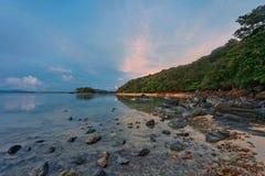 Sunset ebb Royalty Free Stock Image