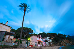 Sunset in Elba island. Royalty Free Stock Photo