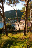 Sunset in Elba, Italy. Stock Image