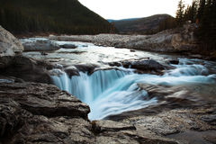 Sunset at Elbow Falls Stock Images
