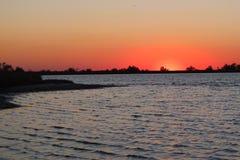 Sunset enchanting spectacle stock photos
