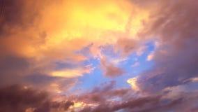 Sunset. Evening sunset colors Stock Photos