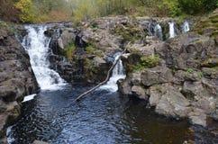 Sunset Falls, Moulton Falls Park, Washington State Stock Image