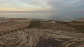 Salton Sea San Andreas Fault California Imperial Valley stock video footage