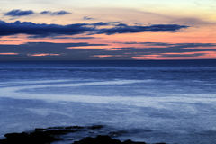 Sunset at Fanad Head, Co. Donegal, Ireland Stock Photography