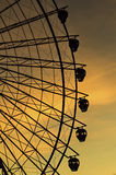 Sunset Ferris Wheel Stock Photography