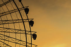 Sunset Ferris Wheel Stock Photos