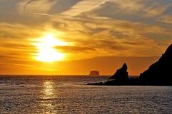 Sunset at First Beach Stock Photos