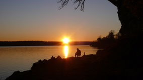Sunset Fisher Stock Images