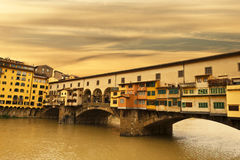 Sunset in Florence Stock Photography