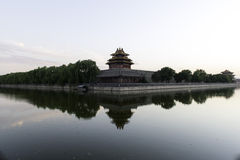 Sunset Of The Forbidden City Royalty Free Stock Photos